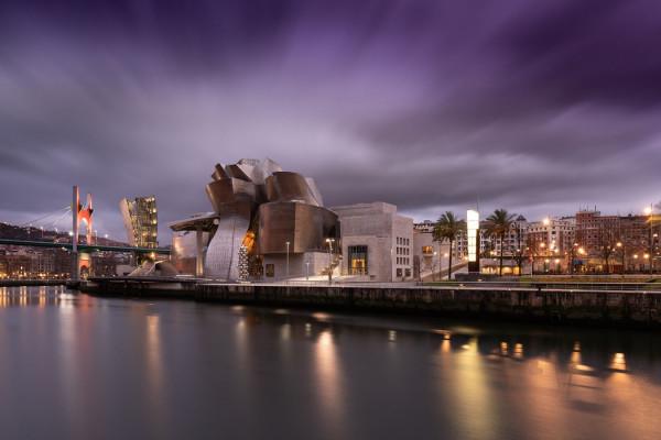 Bilbao la nuit de Christophe Audeber