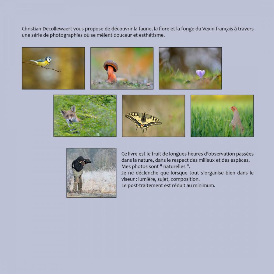 Faune, flore et fonge du Vexin par Christian DECOLLEWAERT